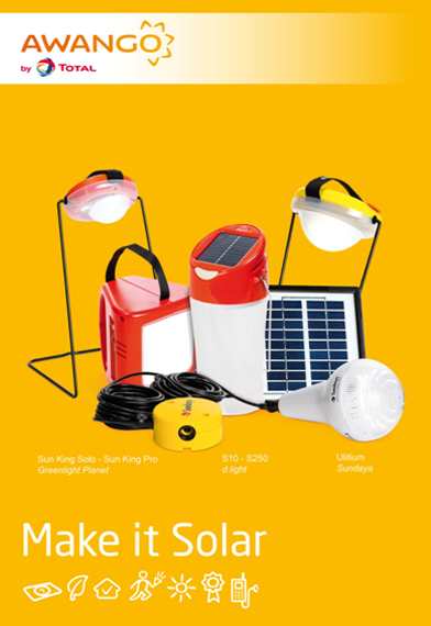total lance son offre de lampes solaires awango by total au burkina faso l 39 observatoire du bop. Black Bedroom Furniture Sets. Home Design Ideas