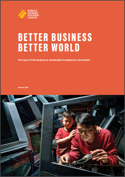Better Business Better World Report