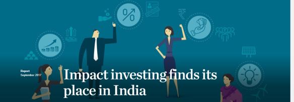 Impact Investing in India
